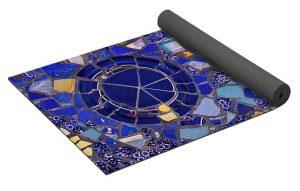Decorative Yoga Mat Rolled