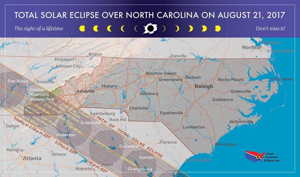 Solar Eclipse in North Carolina