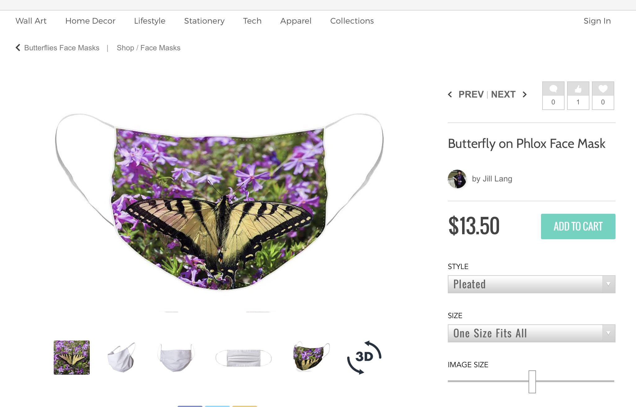 Butterfly Face Masks