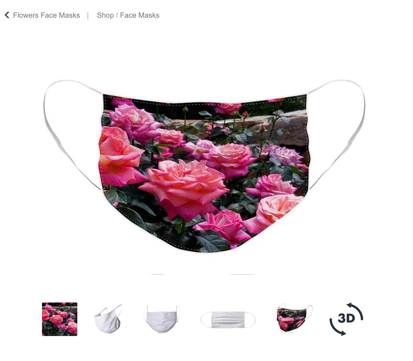 Roses Face Masks