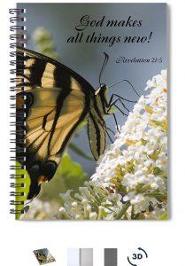 Scripture Spiral Notebook